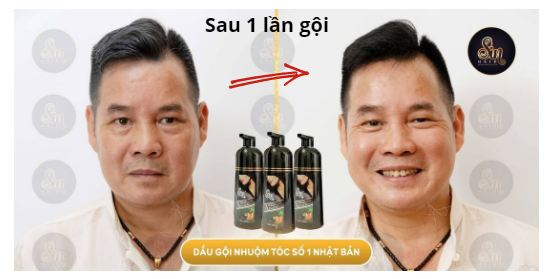Phản hồi khách hàng về dầu gội phủ bạc nhân sâm Sin Hair