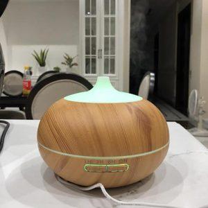máy khuếch tán tinh dầu vân gỗ