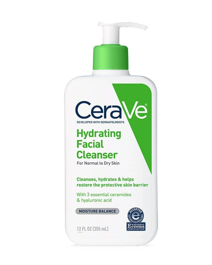 Sữa rửa mặt Cerave hydrating cleanser for for normal to dry skin