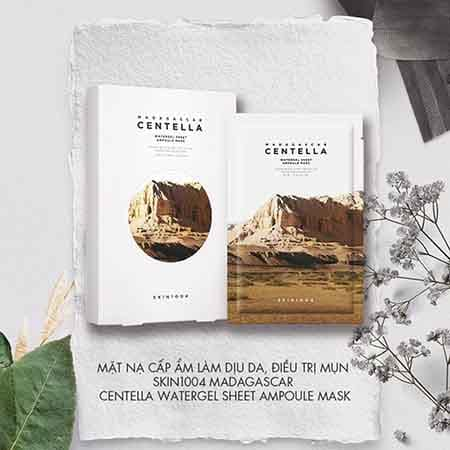 Kem dưỡng ẩm Skin1004 Madagascar Centella Watergel Sheet Ampoule Mask