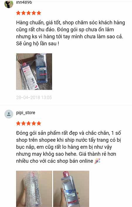Đánh giá người dùng về sản phẩm này