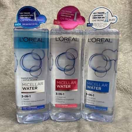 Công dụng của nước tẩy trang Loreal