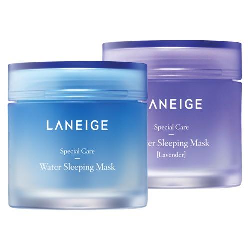 Laneige Water Sleeping Mask. Đây là một loại mặt nạ ngủ cho mặt nhưng bạn hoàn toàn có thể sử dụng như kem dưỡng hàng ngày.
