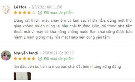 Bạn Lê Hoa chia sẻ