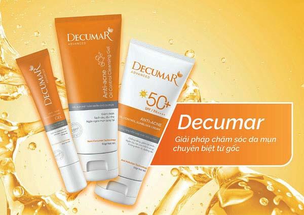 Đôi nét vềthương hiệu mỹ phẩm Decumar