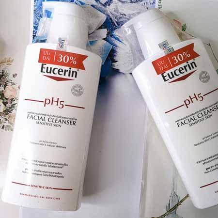 Sữa rửa mặt cho da nhạy cảm Eucerin pH5