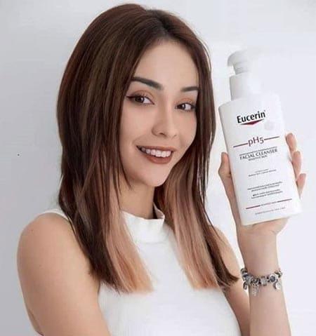 sản phẩm sữa rửa mặt Eucerin pH5