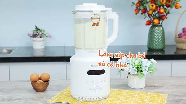 Cảm nhận người dùng về máy làm sữa hạt Nineshield KB-503