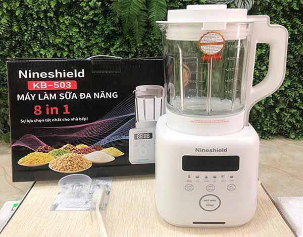 Máy làm sữa hạt Nineshield KB-503 giá bao nhiêu, mua hàng chính hãng ở đâu.
