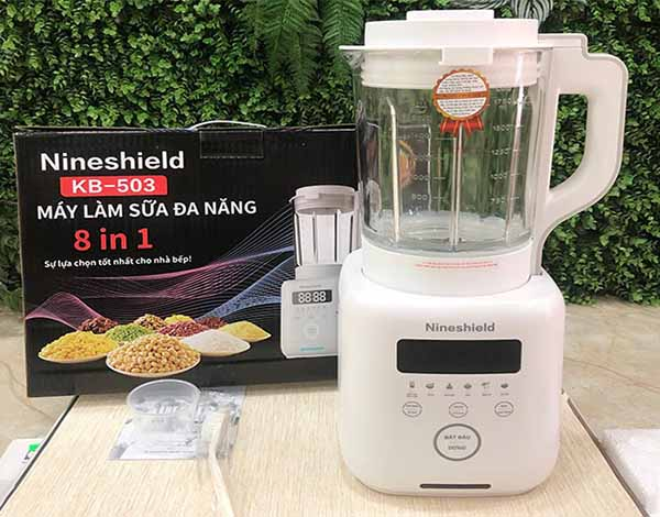 máy làm sữa hạt nineshield-kb-503
