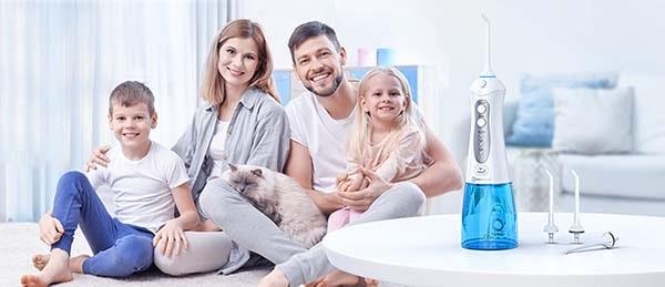H2ofloss là thương hiệu máy tăm nước nội địa của Trung Quốc