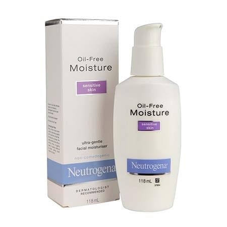 Kem dưỡng ẩm Neutrogena Oil Free Moisture Sensitive Skin