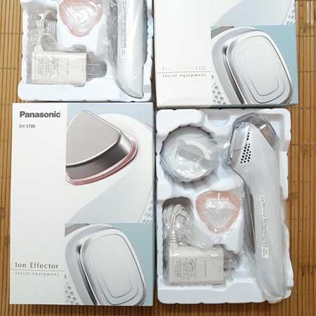Bộ sản phẩm Máy massage mặt Panasonic EH-ST86