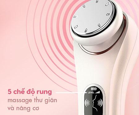 Máy massage mặt Halio