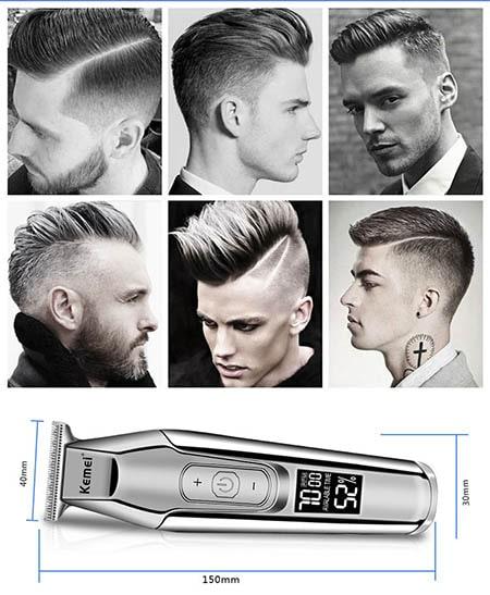 Tông đơ cắt tóc kemei được thiết kế để đáp ứng được các yêu cầu kỹ thuật khó