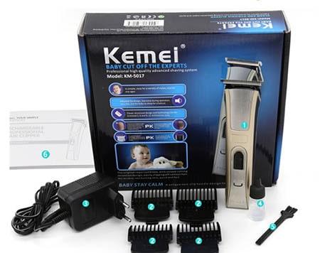 Tông đơ cắt tóc kemei KM 5017