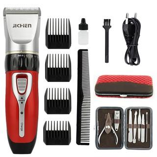Bộ sản phẩm tông đơ cắt tóc jichen được nhiều gia đinh lựa chọn